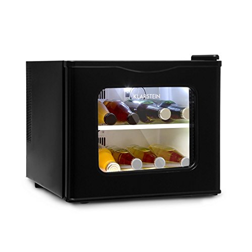 KLARSTEIN Winehouse - Minibar, Mini frigo 17 Litri, Frigorifero per Bevande, 60 W, Classe A++, Porta...