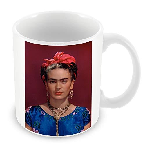 Taza de Cerámica Foto de la Famosa Estrella de Frida Kahlo pintor Original 17