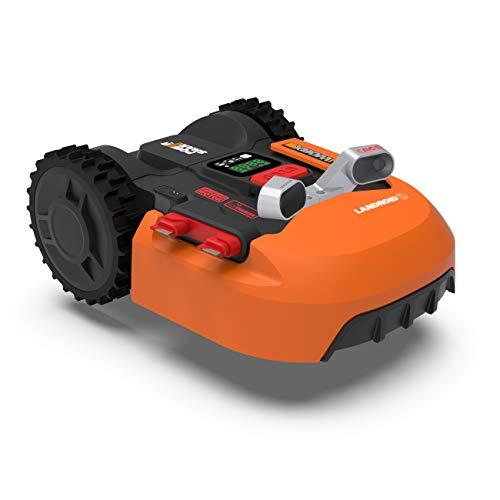 WORX WR900E Landroid Tondeuse Robot, Orange, BIS zu 500m2