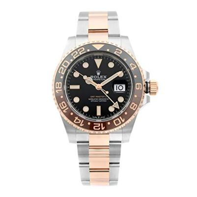 Rolex GMT-Master II Automatic Mens Steel and 18 ct Everose Gold Oyster Watch 126711BKSO