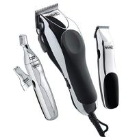 Wahl Clipper Home Barber Kit Model 79524-3001, Electric Clipper, Touch Up Trimmer & Personal Groomer...