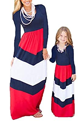★MATERIAL:Cotton/Polyester/Spandex, Soft, Breathable, Comfortable, Skin Friendly. ★Features: Floral Print Boho Beach Sundress,Casual Style ,Geometric, Sleeveless Or Long Sleeve, O-neck,Lightweight and comfortable. ★Occasion:Mom and daughter matching ...