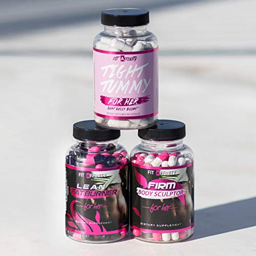 Fit Affinity - Weight Loss Bundle - Lean Fat Burner, Tight Tummy, Firm Body Sculptor 8