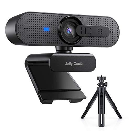 Webcam 1080P Full HD Enfoque automático con Micrófono Estéreo,...