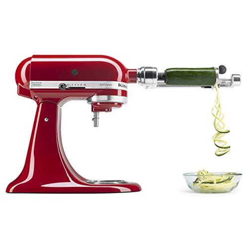 KitchenAid KSM1APC Spiralizer Attachment, 1″, Silver