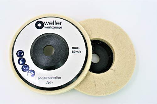 1 x Disco per lucidatura adatto per Bosch GWS 10,8 10 8 12 V 12 76, accessorio in acciaio inox,...