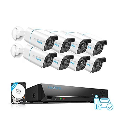 Cámaras de vigilancia de 8 mpx