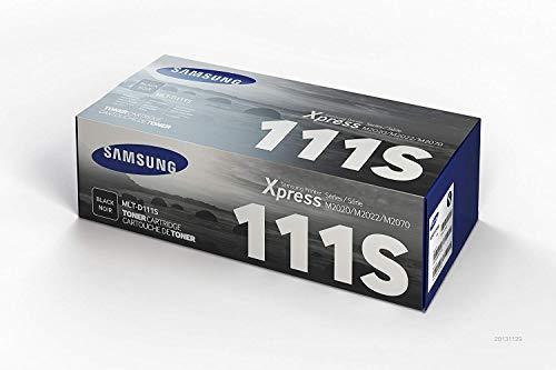Samsung MLT-D111S SU810A Cartuccia Toner Originale Standard, 1000 Pagine, Compatibile con Stampanti...