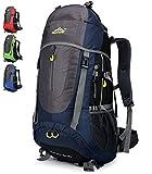 Doshwin 70L Sac à Dos Trekking Camping Voyage Randonnée Grand pour Homme...