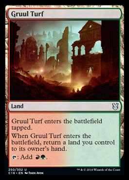 Magic: The Gathering - Gruul Turf - Commander 2019
