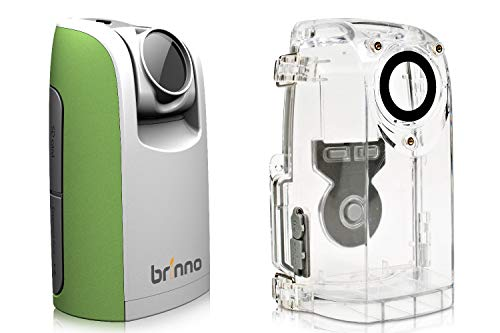 Brinno TLC200 Time Lapse Camera, Cronofotografia, Display LCD 1.44', Risoluzione Video 1280 x 720 con Custodia Resistente agli Agenti Atmosferici