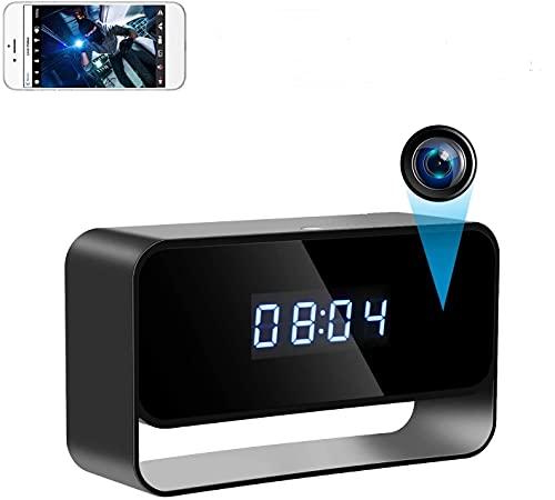 Telecamere Spia Orologio Telecamera Nascosta Telecamera Spia WiFi 1080P HD Mini Telecamera150 Angolo Ampio con Visione Notturna e Rilevamento del Movimento