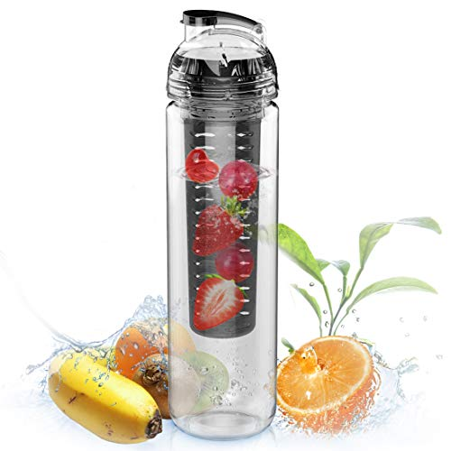 9. AVOIN colorlife 27oz. Sport Tritan Fruit Infuser Water Bottle