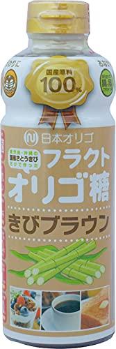 日本オリゴ フラクトオリゴ糖 きびブラウン 700g