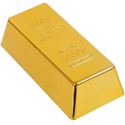 GreatGadgets 8028 - Fermaporta a lingotto d'oro