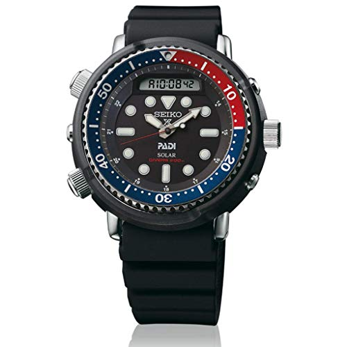 Seiko Prospex - Solar'Tuna' PADI Dive Watch Analog/Digital