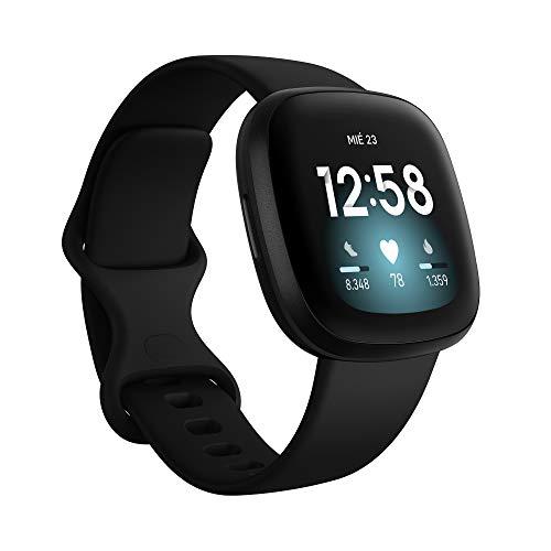 Fitbit Versa 3 - Smartwatch de salud y forma física con GPS...