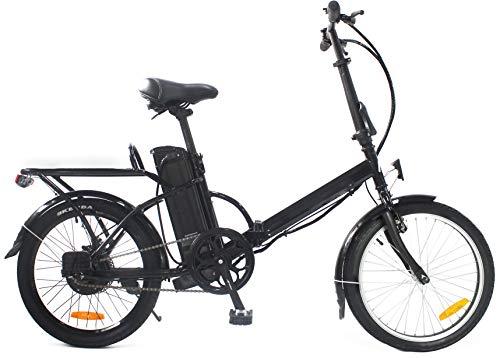 i-Bike, BRERA 20' Unisex adulto, nero, unica