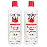 Fairy Tales Rosemary Repel Lice Shampoo- Daily Kids Shampoo for Lice Prevention - 32 oz -2 Pack