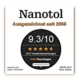 Imprägnierung mit Nanotechnik für Kleidung, Schuhe und Textilien aller Art (z.B. Gartenmöbel, Markise, Sonnenschirm) – Nanotol Textilien Protector (500 ml für ca. 10 m²) - 7