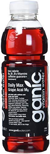 ganic Daily Max aromatisiertes Wasser, 12er Pack, EINWEG (12 x 500 ml)