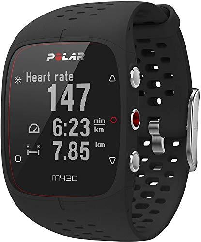 Relógio com GPS e Frequência Cardíaca no Pulso para Corrida M430, Polar, Branco, Único