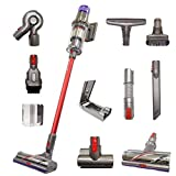 Dyson V11 Animal+ Cordless Red Wand Stick Vacuum Cleaner with 10 Tools Including High Torque Cleaner...