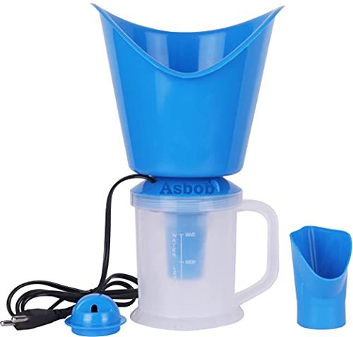 Asbob All in One Vaporizer Steamer for Cold and Cough with Nozzle Inhaler, Facial Sauna & Nose Steamer Machine for Adults and Kids