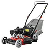 PowerSmart Lawn Mower, 21-inch & 170CC, Gas Powered Push Lawn Mower with 4-Stroke Engine, 3-in-1 Gas...