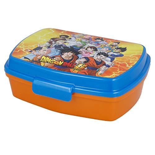 2729; tornare a scuola Dragon Ball; composto per sandwich rettangolare; Prodotto privo di BPA