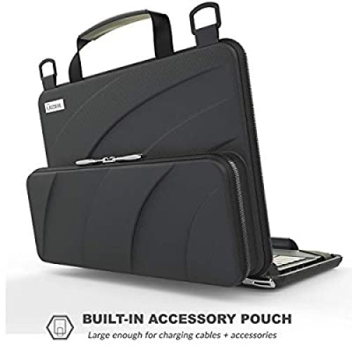 UZBL 11-11.6 inch Work-in Chromebook Laptop Case with Pouch at reviewtwist.com