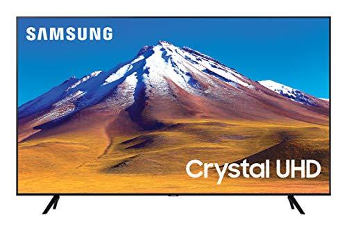 Samsung TV TU7090 Smart TV 50, Crystal UHD 4K, Wi-Fi, Black, 2020