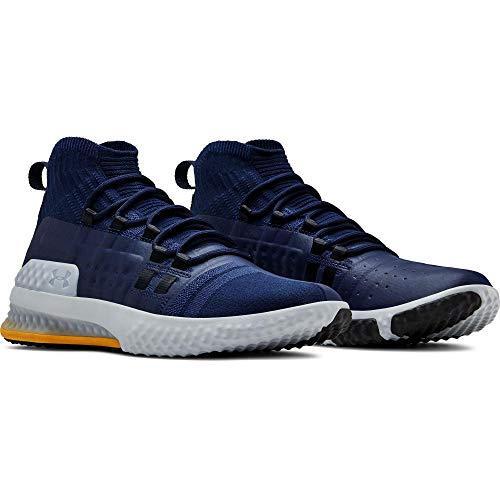 Under Armour Project Rock 1 Men's Training Shoes (9, Navy/Steel/Taxi (403))