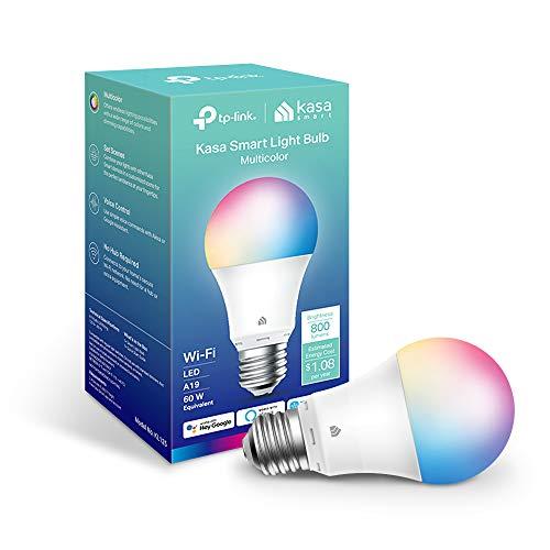 TP-Link Kasa Multicolor Smart Light Bulb KL125P2 with Alexa & Google
