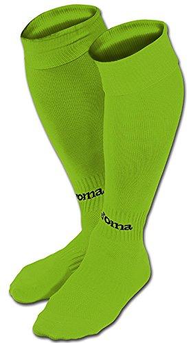 Joma Classic II Calzettoni, Verde Fluor, L