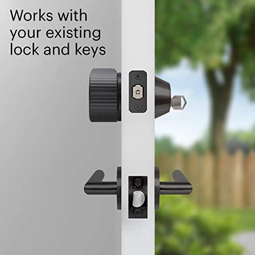 August Wi-Fi, (4th Generation) Smart Lock – Fits Your Existing Deadbolt in Minutes, Matte Black 13