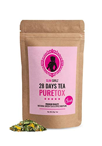 Slim Girlz D-tox Tea 28 Days   Té desintoxicante Para Mujer