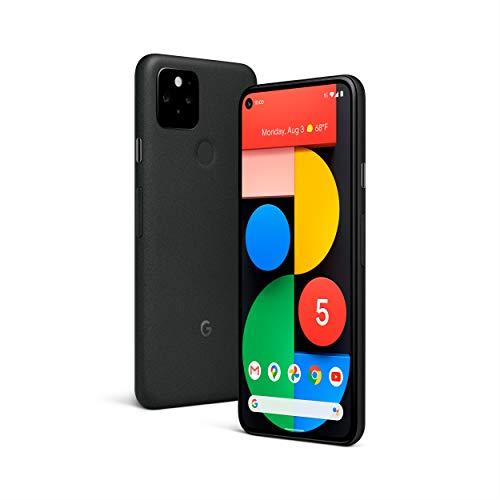 Google Pixel 5 Smartphone Portable Débloquée 5G (Ecran 6' - 128 Go - Android) Just Black (Noir)