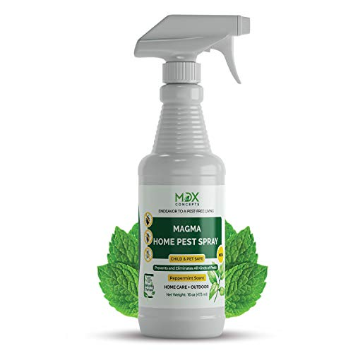 mdxconcepts Organic Home Pest Control Spray - Peppermint Oil...