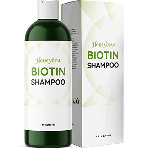 Honeydew Biotin Shampoo for Men and Women - Sulfate Free Volume...