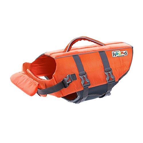 Outward Hound Granby Splash Ripstop Dog Life Jacket, Large, Orange