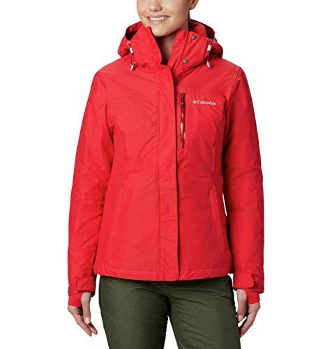 Columbia Alpine Action, Giacca da sci, Donna, Rosso (Red Lily), Taglia: L, 1562241658L