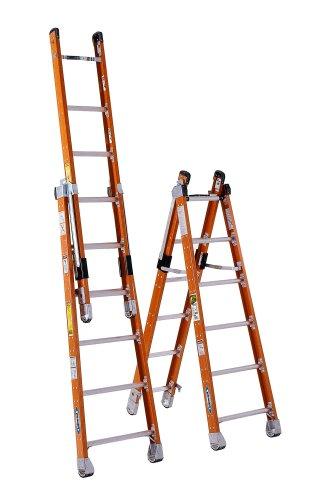 6. Werner Fiberglass Extension Ladder