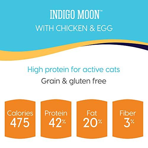 Product Image 4: Solid Gold - Indigo Moon with All Natural Chicken & Egg - Grain Free & Gluten Free - High Protein Holistic Dry Cat Food for All Life Stages - 6lb Bag