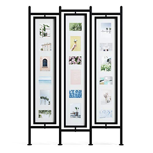 Umbra Pano Large Multi Frame, Holds up to 18 4x6 and 5x7, Modern,...