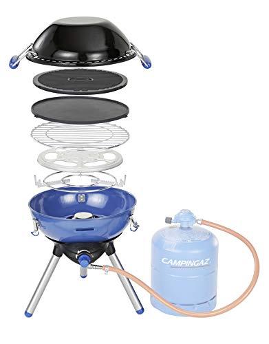 Campingaz Party Grill 400 Fornello da Campeggio, Barbecue a Gas Tutto in Uno, Con Griglia e...
