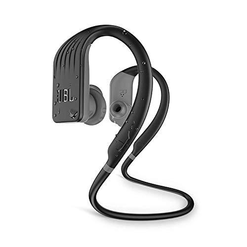 JBL Endurance Jump Waterproof Wireless Sport in-Ear Headphones with One-Touch Remote (Black) (JBLENDURJUMPBLK)