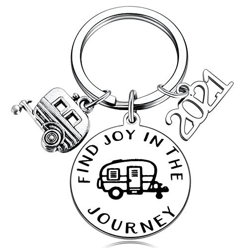 Camper Key Chain RV Accessories for Travel Trailers Inside Decor...
