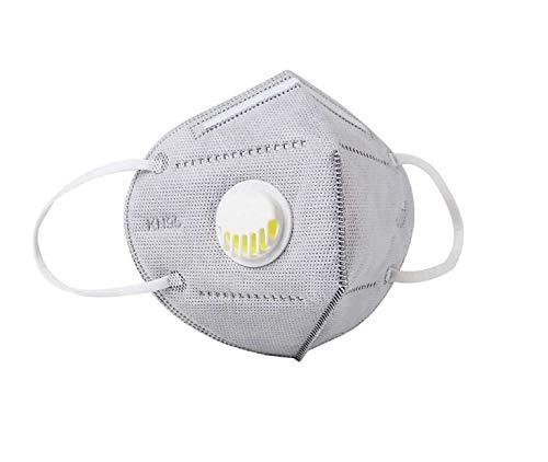 Jomia sicurezza con valvola di respirazione adatta per molte occasioni, adulti uomini e donne protezione personale (6 pezzi)