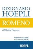 Hoepli Dizionario rumano. Rumano-italiano, italiano-rumano